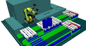 Fassroboter conradius Getränkeindustrie